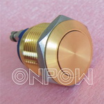 Metal push buttonpush button switch